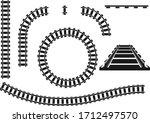 Railroad  Railroad Icon  Black...