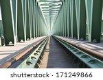 Trussed Railroad Bridge