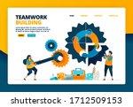cartoon illustration of solve... | Shutterstock .eps vector #1712509153