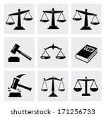 scales icon   Shutterstock .eps vector #171256733