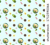 seamless pattern for fabric or...   Shutterstock .eps vector #1712590366