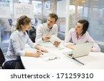 start up business team in...   Shutterstock . vector #171259310