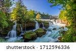 Traunfall A Beautiful Waterfall ...