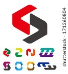 "design logo vector template. ""c""... | Shutterstock .eps vector #171260804"