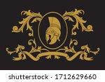 a coat of arms crest heraldic... | Shutterstock .eps vector #1712629660