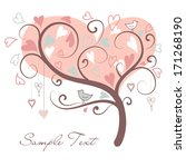 Stylized Love Tree Made Of...