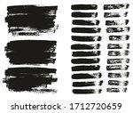 flat paint brush thin lines  ... | Shutterstock .eps vector #1712720659