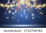 christmas bright  beautiful... | Shutterstock .eps vector #1712746783
