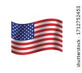 Usa  Flag. Nation Vector Usa...