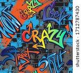 Abstract Seamlessgraffiti...