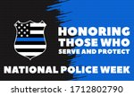 National Police Week....
