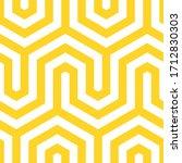 vector yellow geometric pattern.... | Shutterstock .eps vector #1712830303
