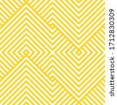 vector yellow geometric pattern.... | Shutterstock .eps vector #1712830309