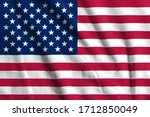 United states   usa  flag on...