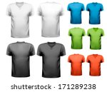 colorful male t shirts. design...