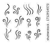 hand drawn aromas vaporize...   Shutterstock .eps vector #1712914573