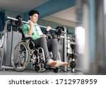 Disabled Teenage Boy In...