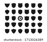 collection of shield icon... | Shutterstock .eps vector #1713026389