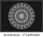 ramadan islamic round pattern...