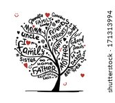 anniversary,aunt,baby,birth,black,brother,cartoon,concept,couple,daddy,daughter,doodle,drawing,family,father