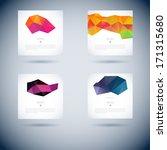 set of abstract vector... | Shutterstock .eps vector #171315680