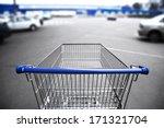 Market Cart And Supermarket...