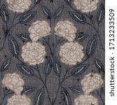 seaumless neutral worn faded... | Shutterstock . vector #1713233509