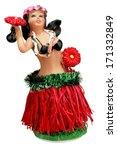 hula girl statue | Shutterstock . vector #171332849