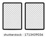 device screen mockup. tablet...   Shutterstock .eps vector #1713439036