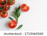 Healthy Food Background   Raw...