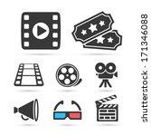 cinema trendy icon for design.... | Shutterstock .eps vector #171346088