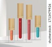 vector trendy rectangular lip...   Shutterstock .eps vector #1713479926
