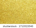 Gold Glitter Lights Texture...