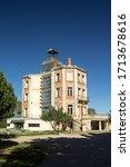 Small photo of Elna, Northern Catalonia/France; October 7 2017: Elna's maternity hospital