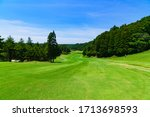 Fairway Of Japanese Golf Course