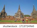 ayutthaya   thailand   30... | Shutterstock . vector #1713724960