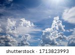 The Sky Is Very Cloudy On A...