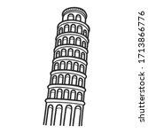 illustration vector graphic of... | Shutterstock .eps vector #1713866776