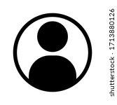 illustration of human icon... | Shutterstock .eps vector #1713880126