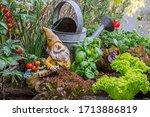 Garden Gnome Ornament Figurine...