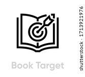 book target personal targeting...   Shutterstock .eps vector #1713921976