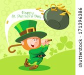 Card St. Patrick\'s Day. Cute...