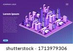 web site design concept.neon...   Shutterstock .eps vector #1713979306