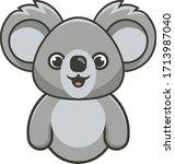 Gray Koala Bear For Logos