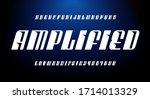 an ultra modern slanted... | Shutterstock .eps vector #1714013329