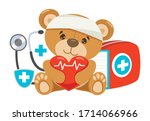 cpr first aid concept for... | Shutterstock .eps vector #1714066966