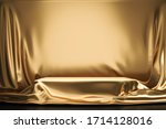 Golden Luxurious Fabric Or...