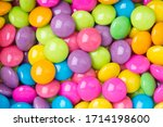 Pile Of Colorful Sweet Candy...