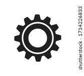 gear icon flat design  ...   Shutterstock .eps vector #1714226833