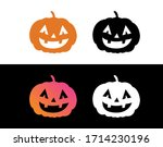 the vector orange gradient... | Shutterstock .eps vector #1714230196